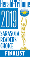 Herald Tribune 2019 Sarasota Reader's Choice Finalist