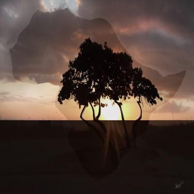Sunrise & Sunset of Africa